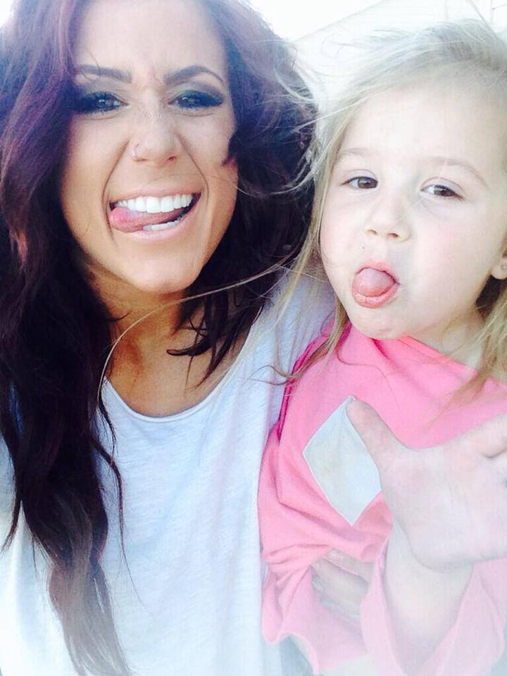 Photos Chelsea Houska And Daughter Aubree Go To The -8377
