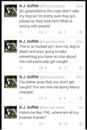 Nathan Griffith Stolen Dog