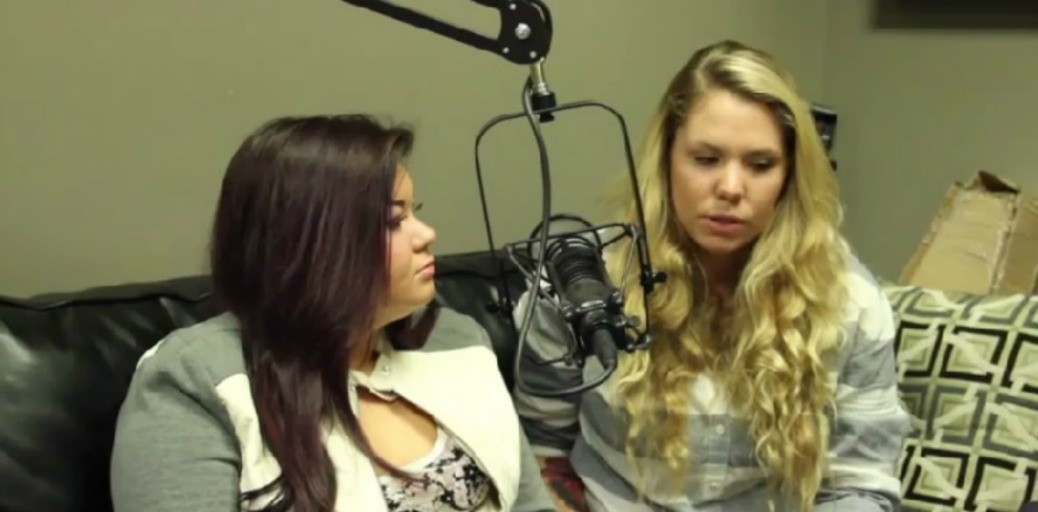 Amber and Kailyn Bobby Bones