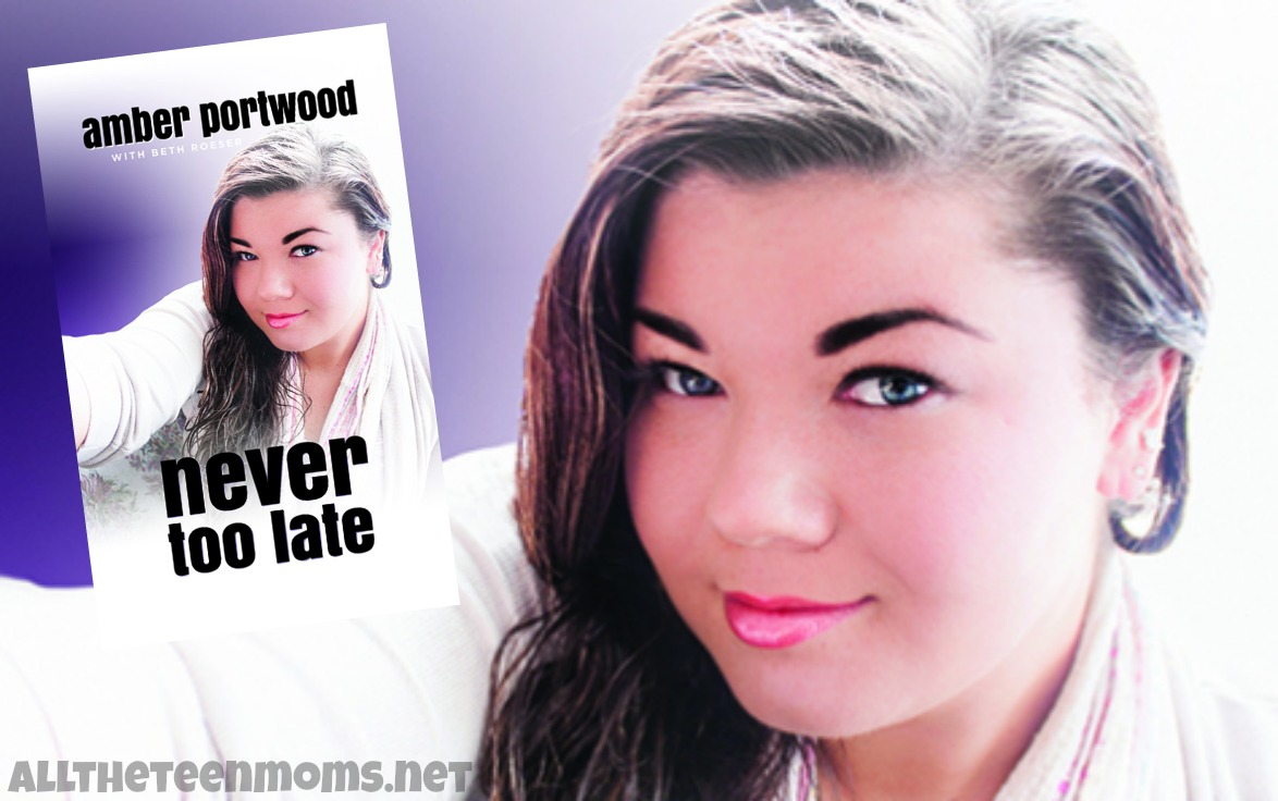 Amber Portwood's Book Available Now! Take a Peek Inside!