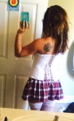 Jenelle Evans School Girl Costume