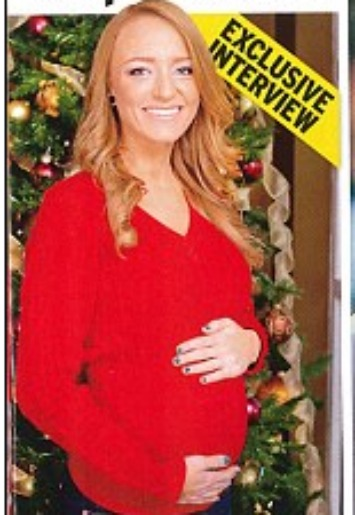 Maci on the cover of InTouch Magazine