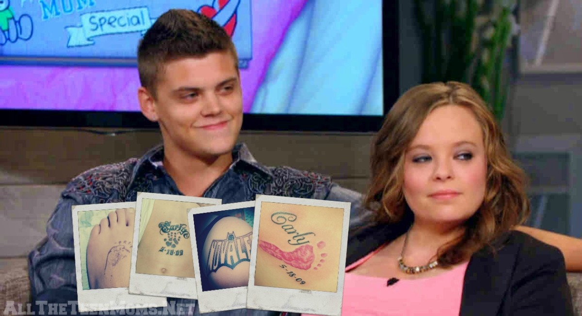 PHOTOS! Catelynn and Tyler Get New Tattoos forNovalee!