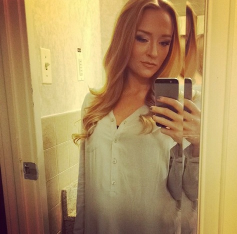 Maci Bookout Baby Bump