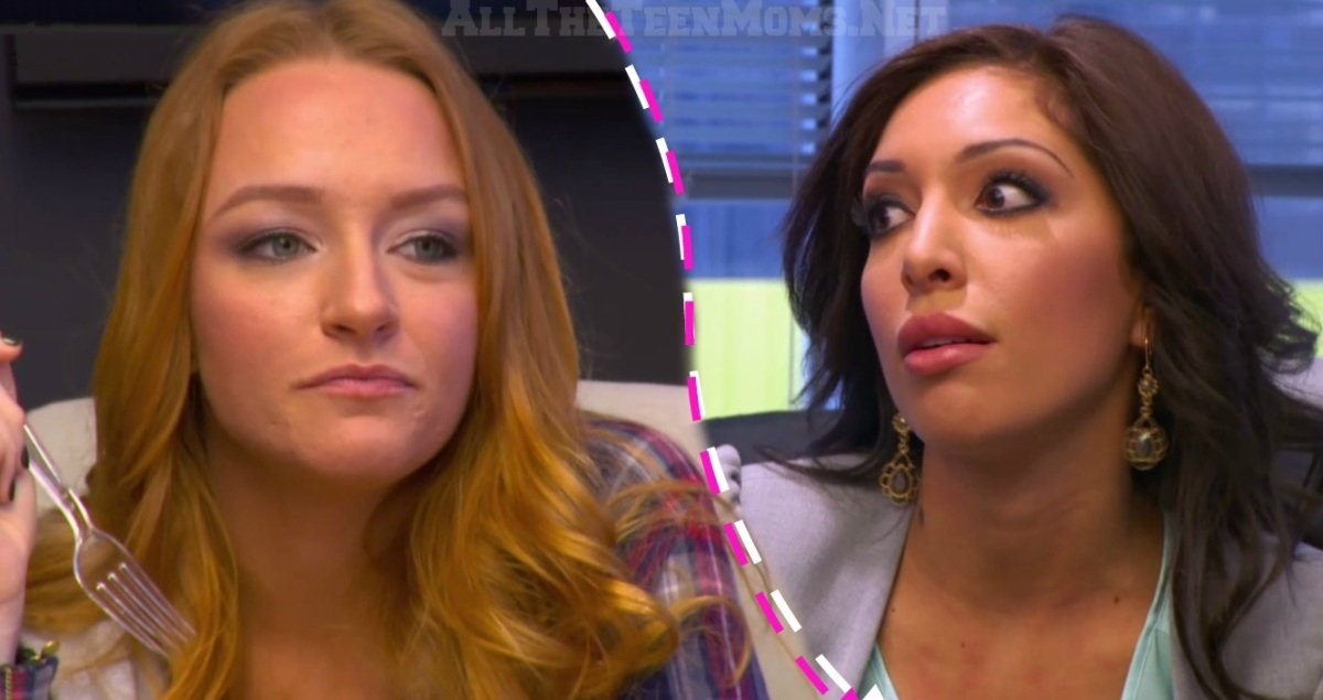 "Farrah Abraham Fights with Maci Bookout in Sneak Peek! ""You Shouldn't Be Here!"""