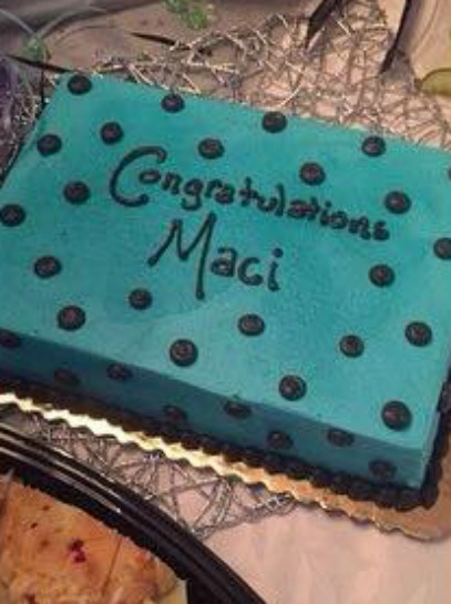Maci Bookout Shower Cake