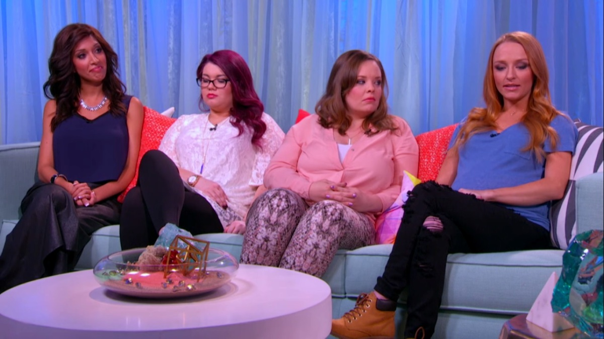Sneak Peek! All 4 Teen Moms Come Face to Face in Next Week's Aftershow Special!