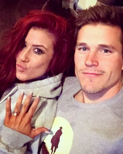 Chelsea Houska Engaged