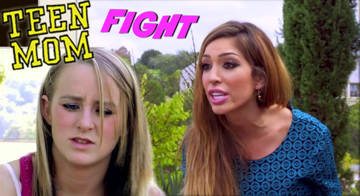 Feud! Leah Messer Makes Jab at Farrah Abraham! (Who Jabs Right Back!)